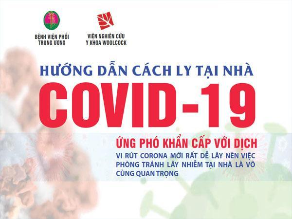 Hướng dẫn cách ly tại nhà covid-19