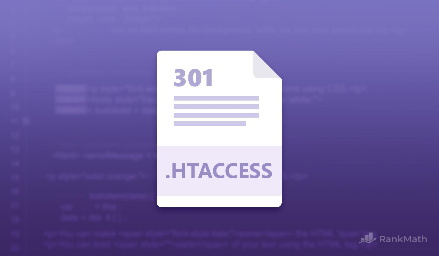 Htaccess Redirects