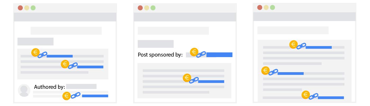 Link Spam Blog Sponsored