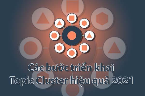 Các bước triển khai Topic Cluster hiệu quả 2021